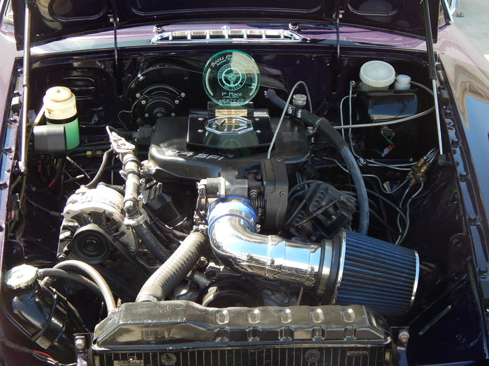 1973 MG MGB GT V6 Conversion (GHD5UD303624) : Registry : The