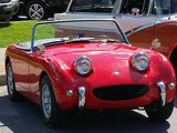 1959 Austin Healey Bugeye Sprite Red James Hodges A