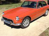 1972 MG MGB GT Orange John T