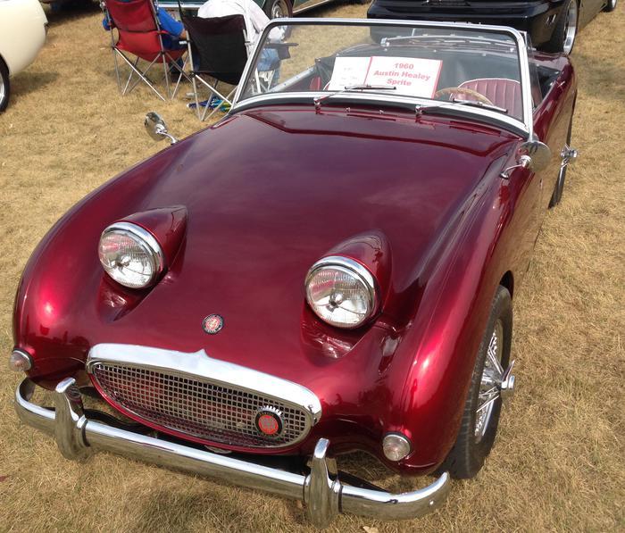 1960 Austin-Healey Bugeye Sprite (AN5L38XXX) : Registry