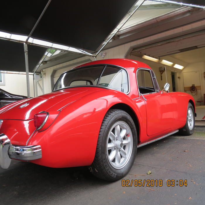1959 MG MGA 1500 Coupe (HD1246899) : Registry : The