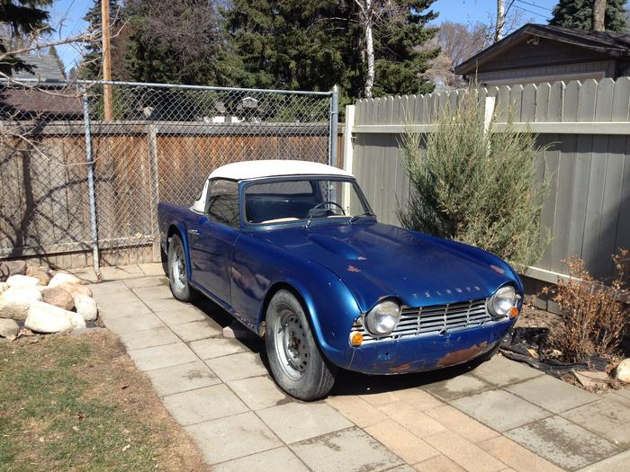 1962 Triumph TR4 (TR4) : Registry : The AutoShrine Network