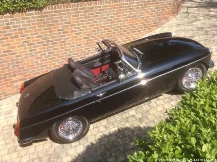 1978 MG MGB For Sale | Black 1978 MG MGB Classic Car in