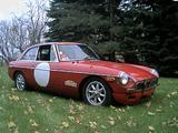 1969 MG MGB GT Red white John Deikis