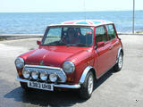1977 Mini 1275GT Red White Fiona Ross