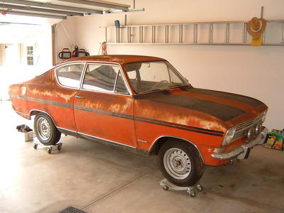 1967 Opel Kadett 321100966 Registry The Autoshrine