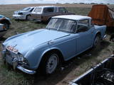 1964 Triumph TR4 Lt Blue With White Top James Wales